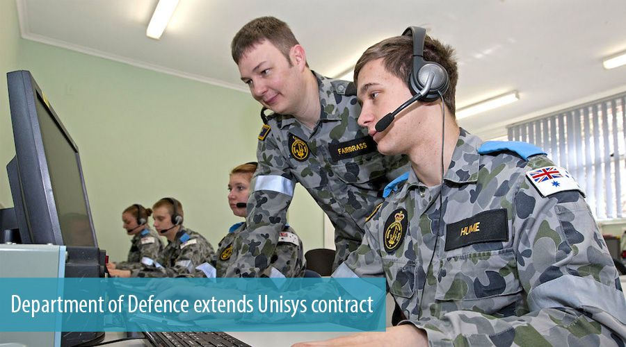 Department of Defence extends Unisys contract