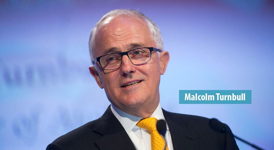 Malcolm Turnbull best payed global leader according to IG consultancy