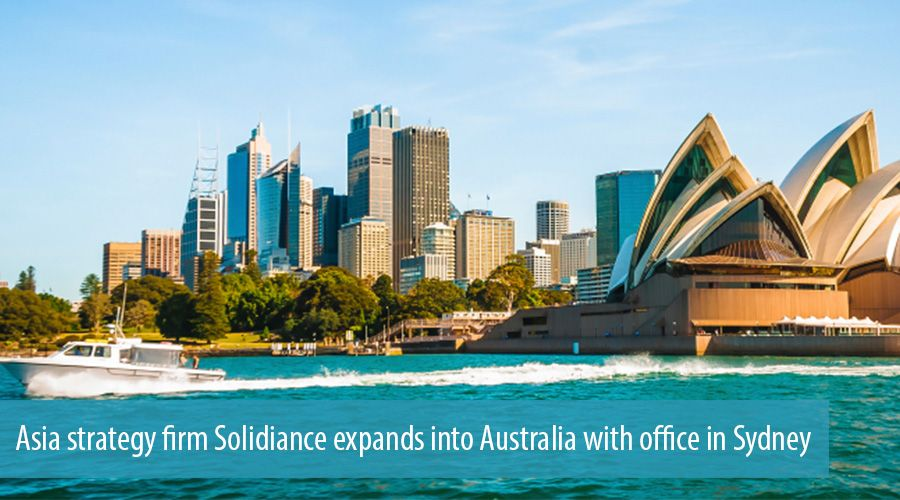 Asian centric strategy firm Solidiance expands into Australia with office in Sydney