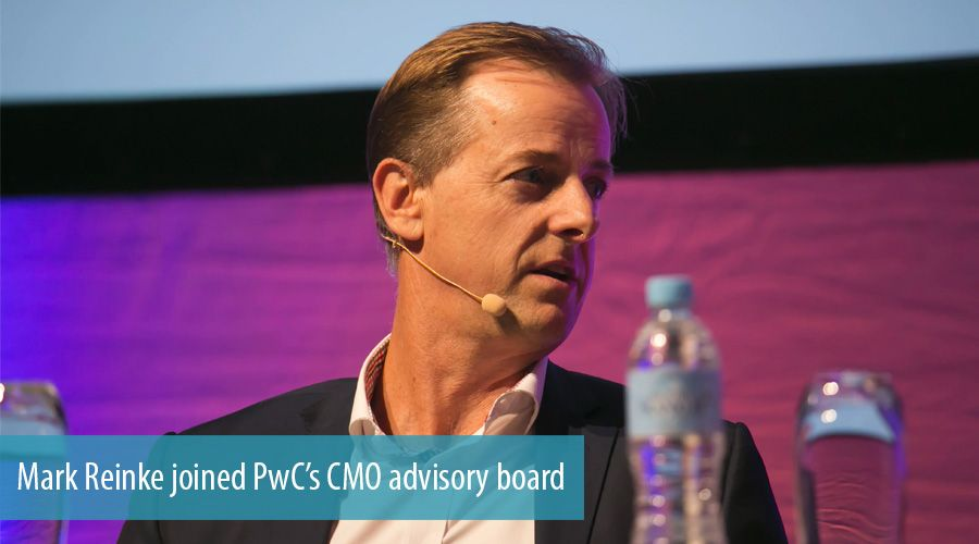 Mark Reinke joined PwC's CMO advisory board