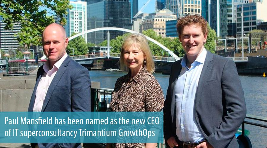 Paul Mansfield has been named as the new CEO of IT superconsultancy Trimantium GrowthOps