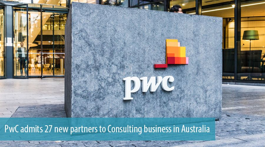 PwC admits 27 new partners to Consulting business in Australia