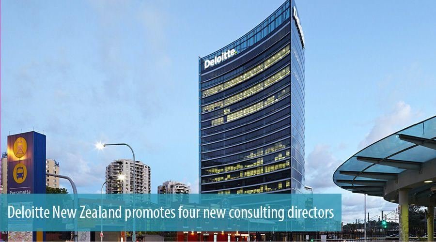 Deloitte New Zealand promotes four new consulting directors