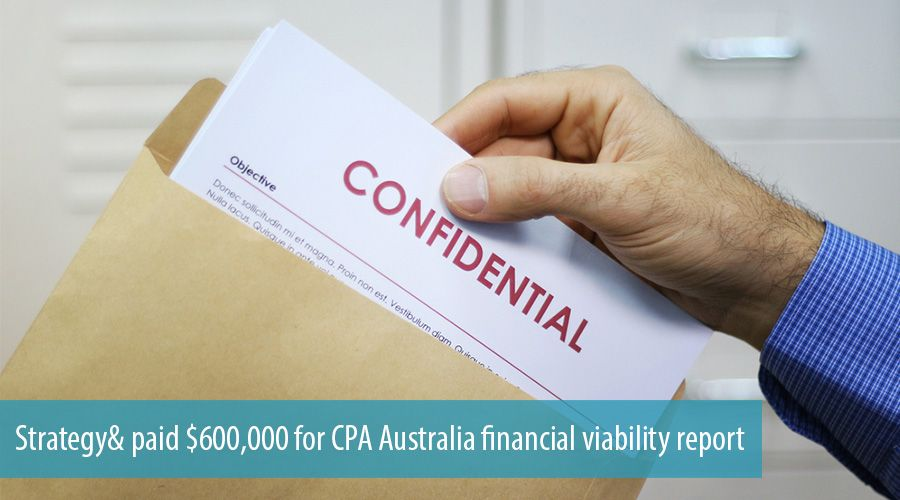 Strategy& paid $600,000 for CPA Australia financial viability report
