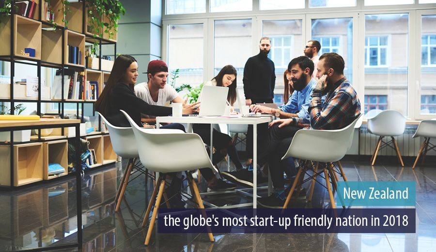 New Zealand - The globe's most start-up friendly nation in 2018