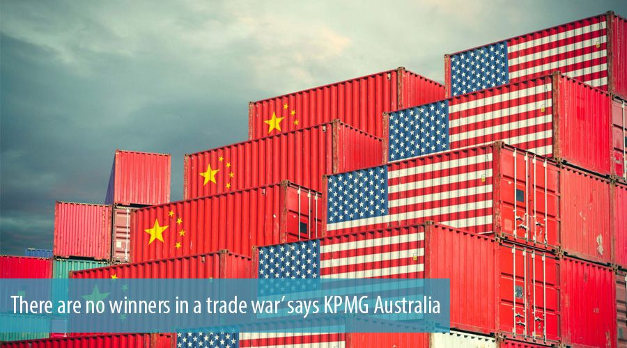 There are no winners in a trade war' says KPMG Australia