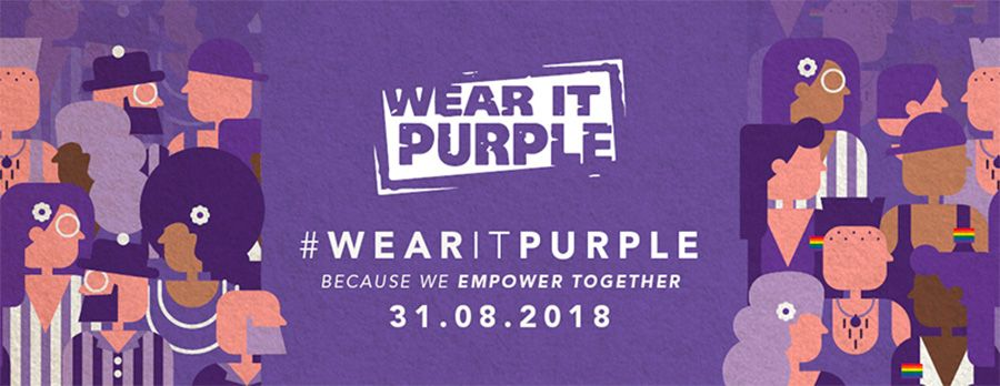 Consulting firms exemplify diversity and inclusion on Wear it Purple day