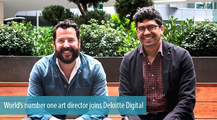 World's number one art director joins Deloitte Digital