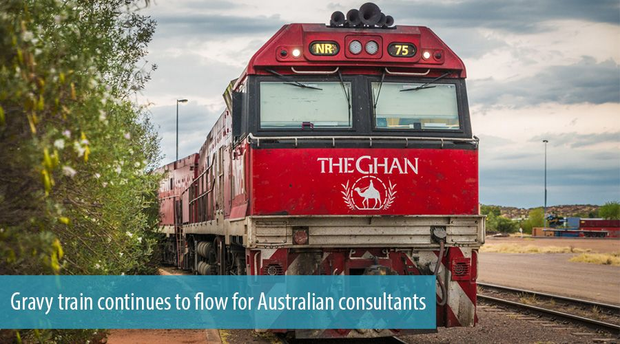 Gravy train continues to flow for Australian consultants