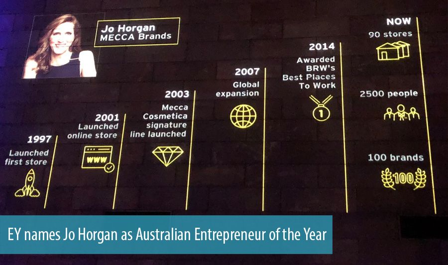 EY names Jo Horgan as Australian Entrepreneur of the Year