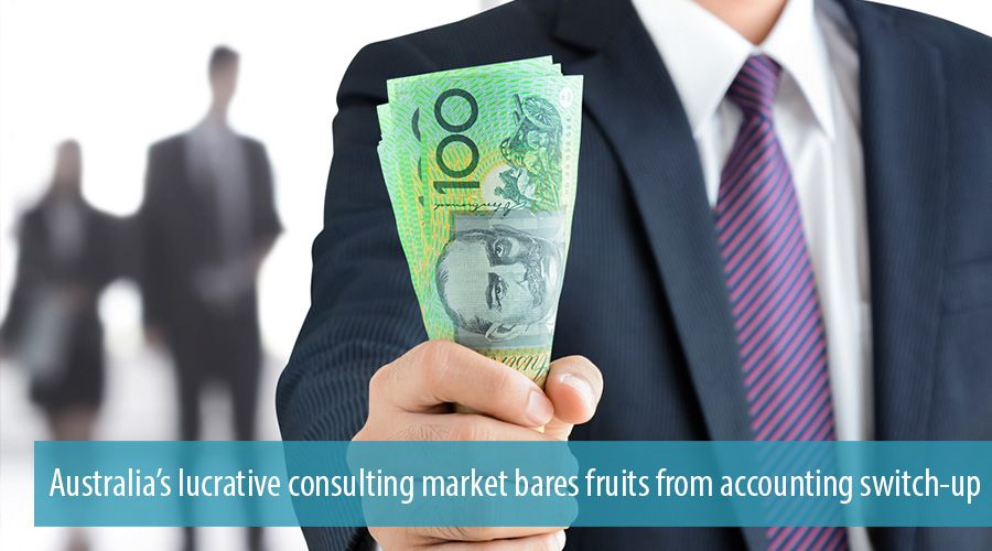 Australia's lucrative consulting market bares fruits from accounting switch-up