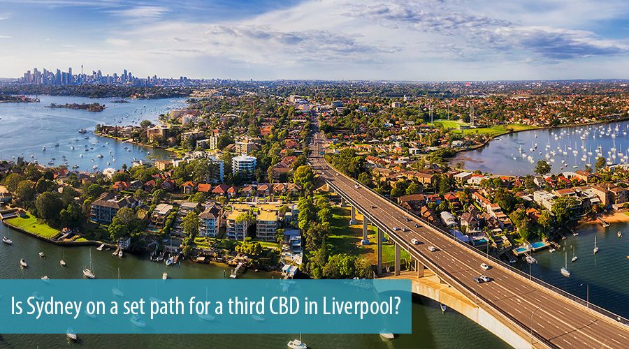 Is Sydney on a set path for a third CBD in Liverpool?