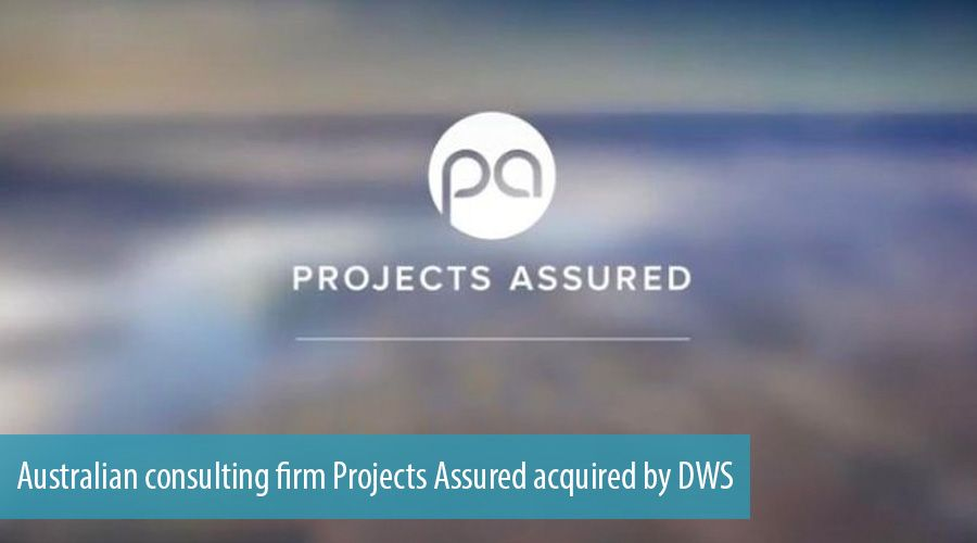Australian consulting firm Projects Assured acquired by DWS
