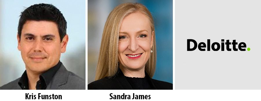 Kris Funston and Sandra James join partner team of Deloitte
