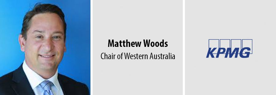Matthew Woods leads KPMG in Western Australia