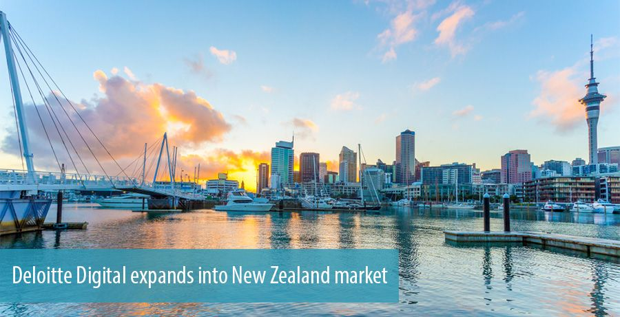 Deloitte Digital expands into New Zealand market