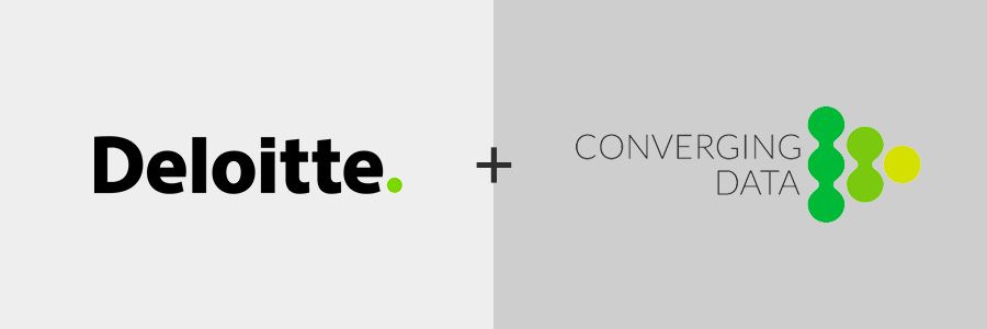 Converging Data team in APAC has joined forces with Deloitte