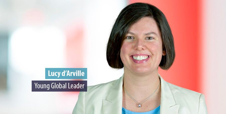 Bain partner Lucy d'Arville selected as a Young Global leader by the WEF