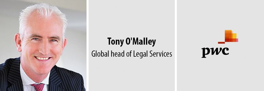 Tony OMalley - Global head of Legal Services at PwC