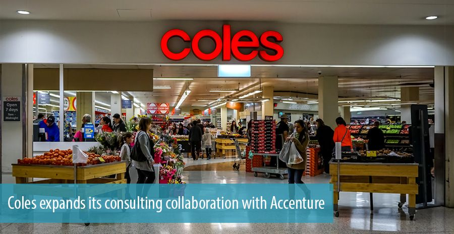 Coles expands its consulting collaboration with Accenture