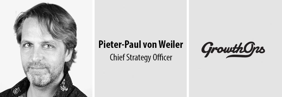 Pieter-Paul von Weiler, Chief Strategy Officer, GrowthOps