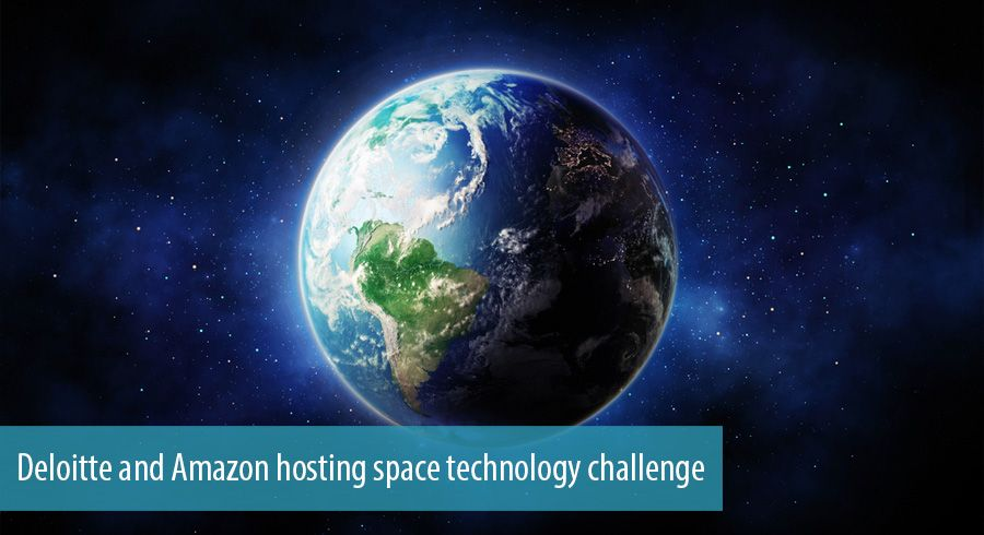 Deloitte and Amazon hosting space technology challenge