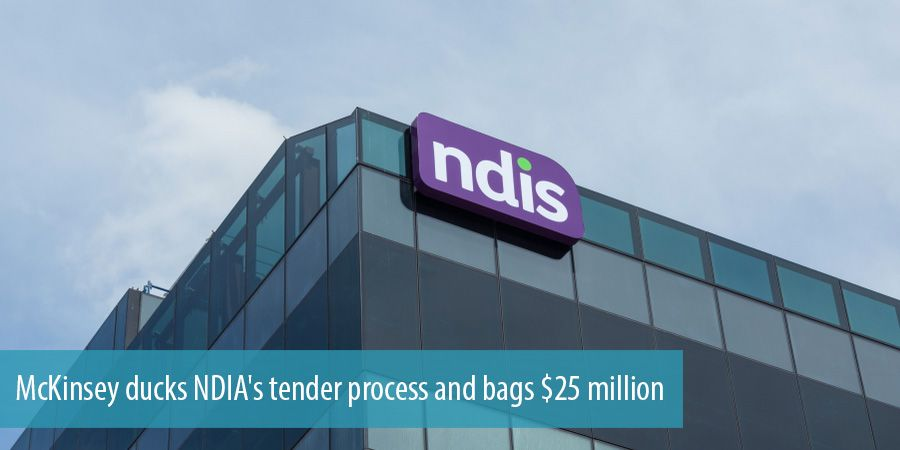 McKinsey ducks NDIA's tender process and bags $25 million