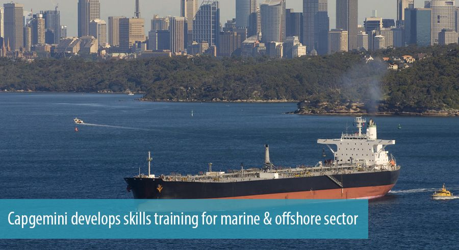 Capgemini develops skills training for marine & offshore sector