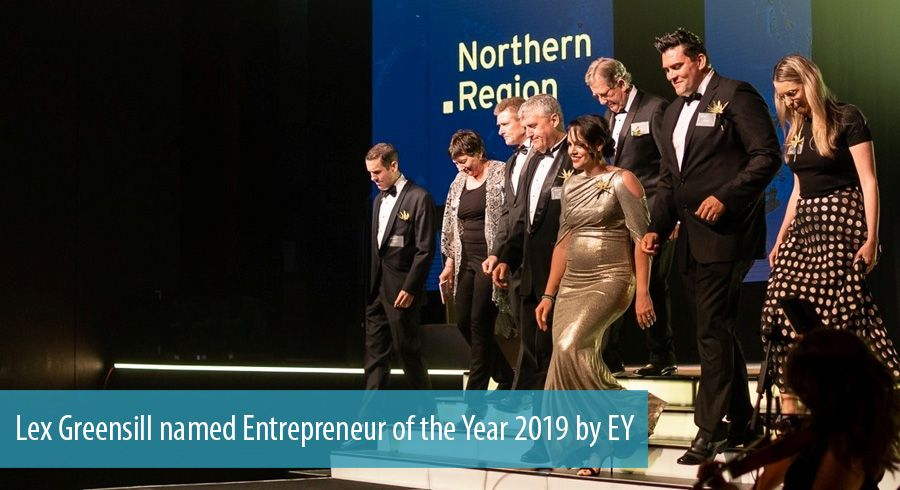 Lex Greensill named Entrepreneur of the Year 2019 by EY