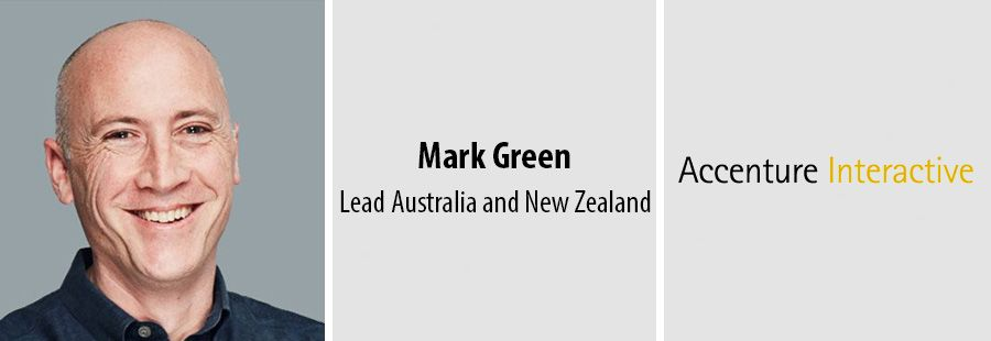 Mark Green appointed ANZ Lead for Accenture Interactive
