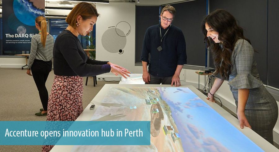 Accenture opens Perth innovation hub for mining and energy