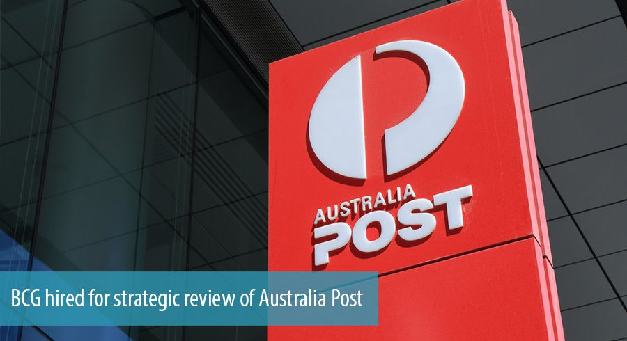 BCG hired for strategic review of Australia Post
