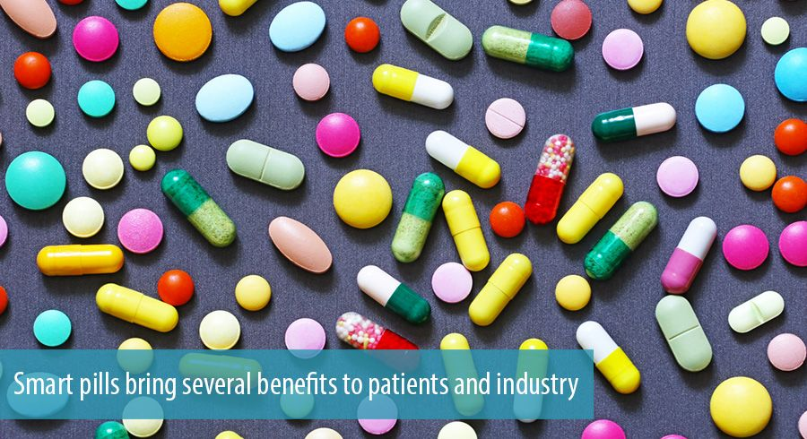 Smart pills bring several benefits to patients and industry