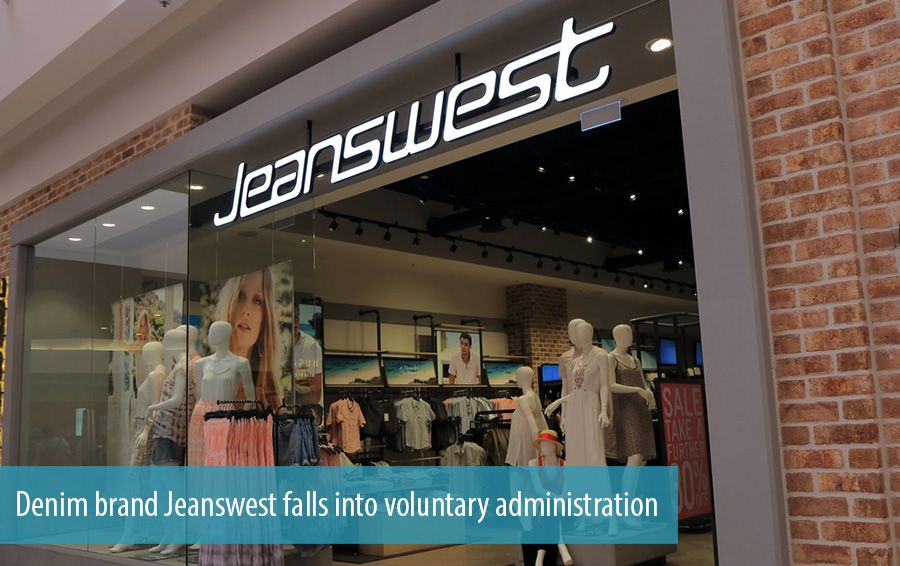 Denim brand Jeanswest falls into voluntary administration