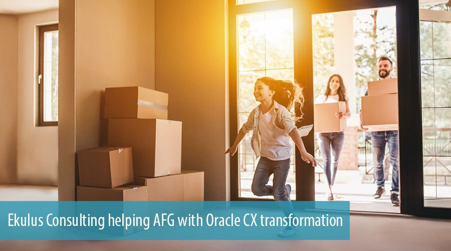 Ekulus Consulting helping AFG with Oracle CX transformation