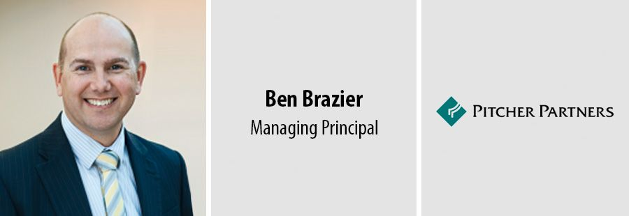 Ben Brazier, Managing Principal at Pitcher Partners