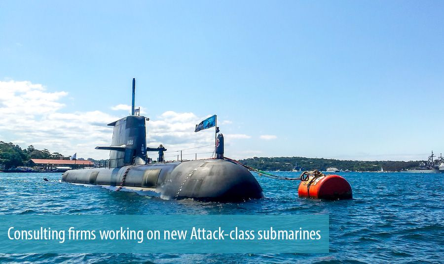 Consulting firms working on new Attack-class submarines