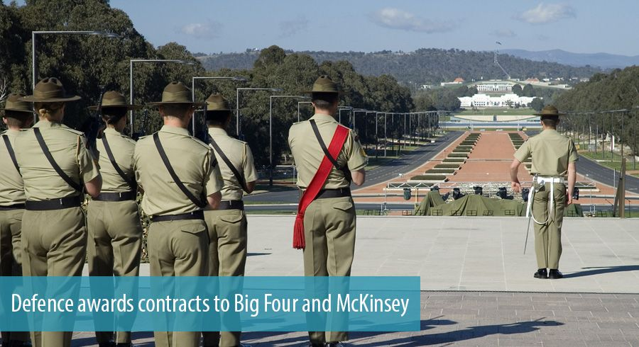 Defence awards contracts to Big Four and McKinsey