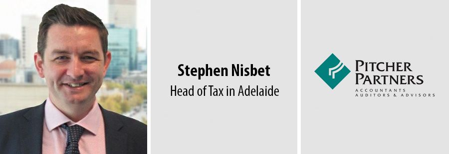 Stephen Nisbet, Head of Tax in Adelaide, Pitcher Partners