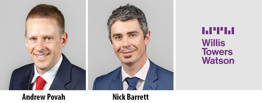 Andrew Povah and Nick Barrett - Willis Towers Watson