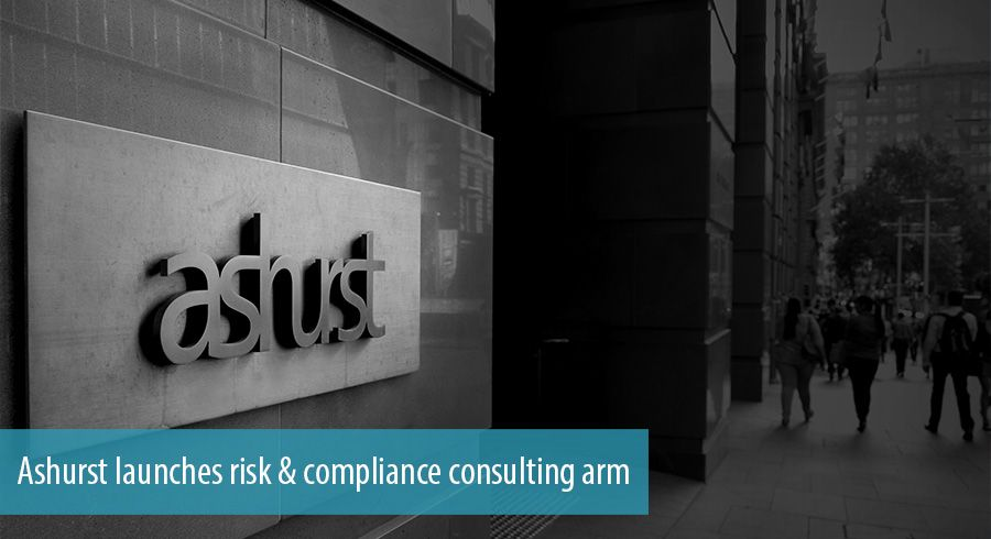 Ashurst launches risk & compliance consulting arm