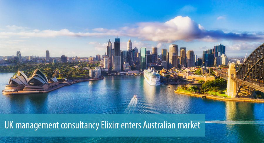 UK management consultancy Elixirr enters Australian market
