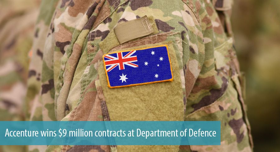 Accenture wins $9 million contracts at Department of Defence