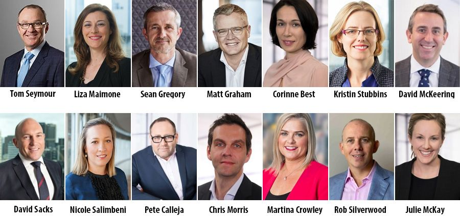 Meet the new leadership team of PwC in Australia