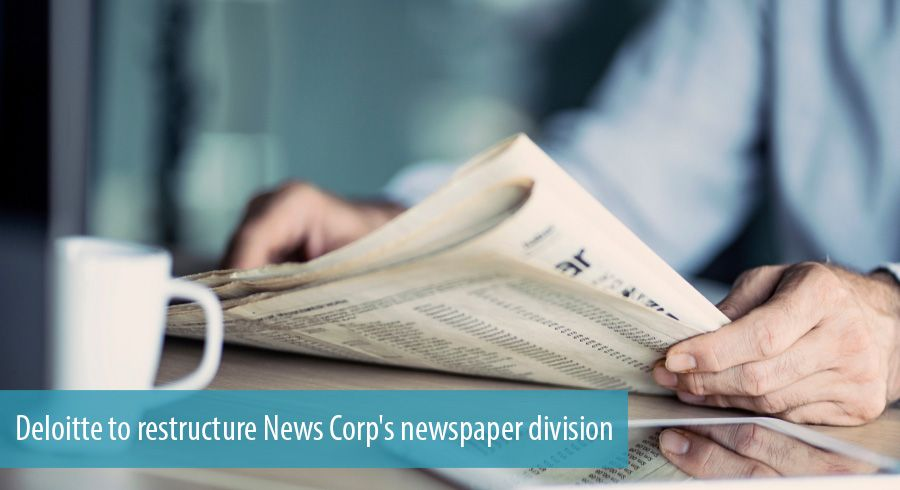 Deloitte to restructure News Corp's newspaper division