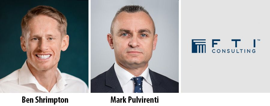 Ben Shrimpton and Mark Pulvirenti - FTI Consulting