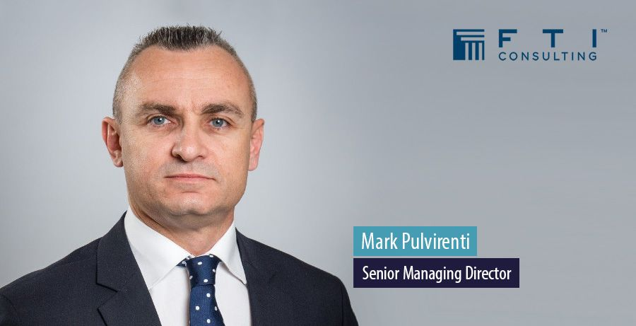Mark Pulvirenti, Senior Managing Director at FTI Consulting