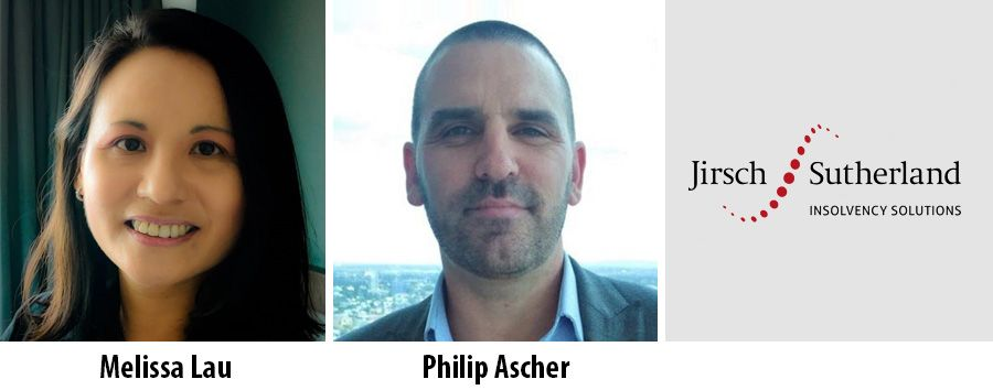 Melissa Lau and Philip Ascher, Jirsch Sutherland