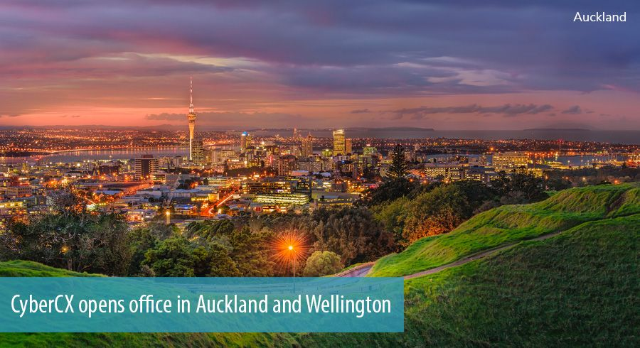 CyberCX opens office in Auckland and Wellington