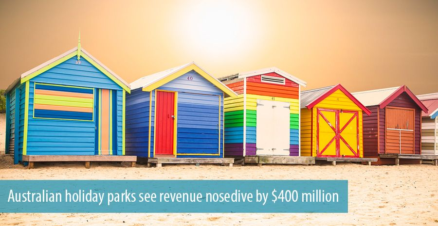 Australian holiday parks see revenue nosedive by $400 million